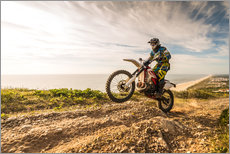 Stampa su plexi-alluminio  Coast trip with the Enduro