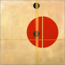 Adesivo murale  suprematistic - László Moholy-Nagy