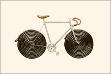 Adesivi murali  Licorice Bike - Florent Bodart