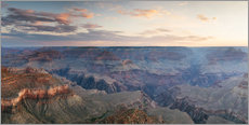Adesivo murale  Panoramic sunrise of Grand Canyon, Arizona, USA - Matteo Colombo