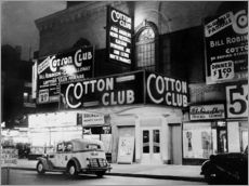 Stampa su plexi-alluminio  Cotton Club in Harlem, New York