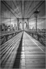 Adesivi murali  NEW YORK CITY Brooklyn Bridge - Melanie Viola