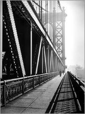 Adesivi murali  Manhattan Bridge 1936 - Christian Müringer
