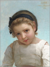 Adesivo murale Portrait of a Young Girl
