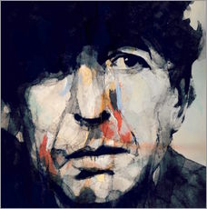 Adesivi murali  Leonard Cohen   Hey That's No Way To Say Goodbye - Paul Paul Lovering Arts