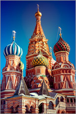 Adesivo murale  St. Basil's Cathedral, Russia
