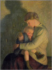 Adesivo murale  Mother and Child: Candlelight - William Rothenstein