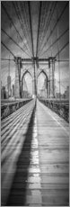Adesivo murale  NEW YORK CITY Brooklyn Bridge Panorama - Melanie Viola