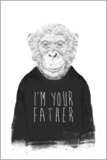 Adesivi murali  I'm your father - Balazs Solti