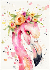 Adesivi murali  Little flamingo - Sillier Than Sally