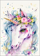 Adesivi murali  Little Unicorn - Sillier Than Sally
