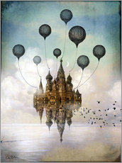 Adesivi murali  Journey to the east - Cathrin Welz-Stein