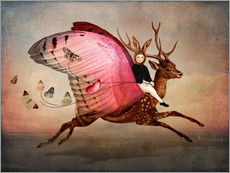 Stampa su plexi-alluminio  Enjoy the ride - Cathrin Welz-Stein