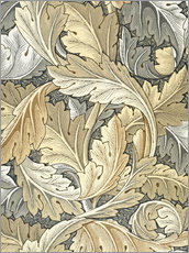 Stampa su plexi-alluminio  Acanto - William Morris