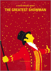 Stampa su plexi-alluminio  No965 My The Greatest Showman minimal movie poster - chungkong