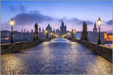 Poster  Charles Bridge in Prague, Czech Republic - Jan Christopher Becke