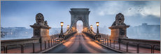 Jan Christopher Becke - Chain Bridge in Budapest, Hungary