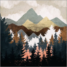 Poster Premium Forest View