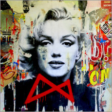 Poster Premium  Marilyn - Michiel Folkers