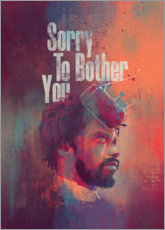 Stampa su tela  Sorry To Bother You - Fourteenlab
