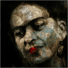Alluminio Dibond  Frida Kahlo - Paul Paul Lovering Arts