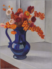 Stampa su tela  Strawflowers e agrodolce - George Ault