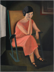 Adesivo murale  Miss Whiting - George Ault