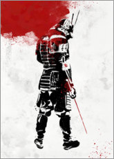 Poster Samurai Warrior