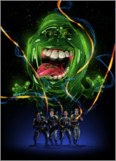 Poster Premium Ghostbusters