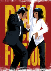 Poster Premium Pulp Fiction Dance