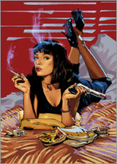 Poster Premium Pulp Fiction