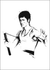 Poster  Bruce Lee - Tompico