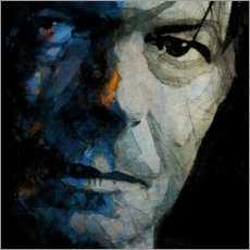 Poster Premium  Camaleonte - David Bowie - Paul Lovering