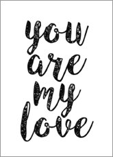 Poster Premium You are my love
