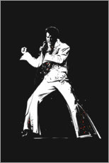 Poster  Elvis Presley - tom