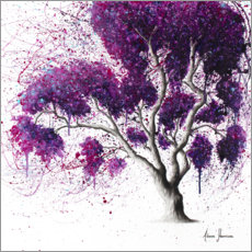 Poster Premium Southern Purple Dream Tree