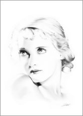 Poster Premium Hollywood Diva - Bette Davis