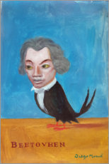 Poster  Uccello Beethoven - Diego Manuel Rodriguez