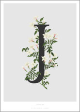 Poster Premium  J is for Jasmine - Charlotte Day