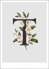Stampa su tela  T is for Tea - Charlotte Day