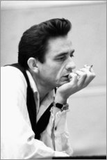 Poster Premium  Johnny Cash - Celebrity Collection