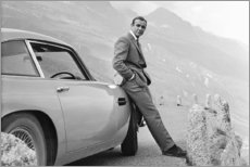 Stampa su vetro acrilico  Sean Connery alias 007 - Celebrity Collection