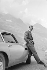 Stampa su tela  Sean Connery nei panni di James Bond - Celebrity Collection