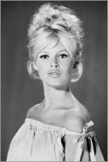 Poster  Brigitte Bardot in topless - Celebrity Collection