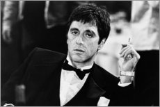 Poster Premium  Giovane Al Pacino - Celebrity Collection