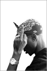 Poster Premium  2pac - Celebrity Collection