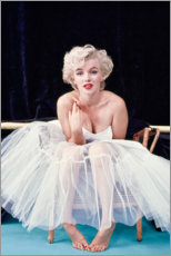 Poster Premium  Marilyn Monroe in tutù - Celebrity Collection