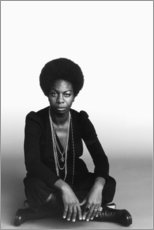 Stampa su tela  Nina Simone - Celebrity Collection