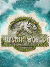 Poster Premium  Jurassic World - The Usher designs