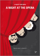 Poster Premium A Night At The Opera
